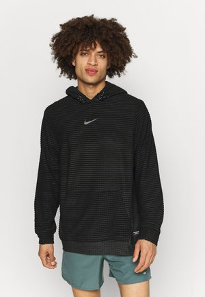 Jersey con capucha - black/dark smoke grey/iron grey