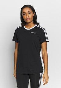 adidas Performance - T-shirts med print - black - 0