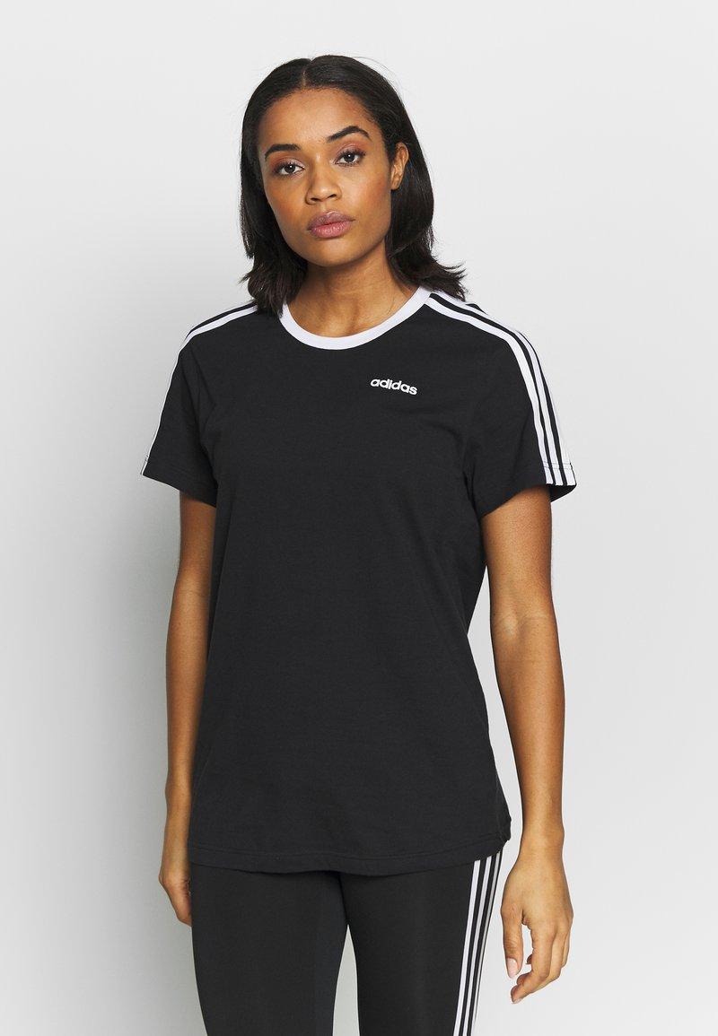 adidas Performance - T-shirts med print - black