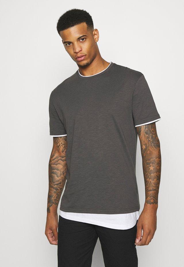 UNISEX  - T-shirt med print - dark gray