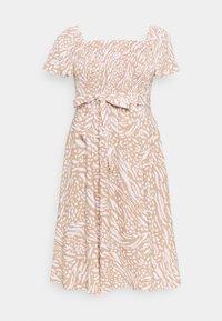 Forever New Curve - NIKITA DRESS - Day dress - natural mixed animal - 0