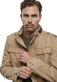 Brandit - HERREN BRITANNIA JACKET - Summer jacket - camel - 5