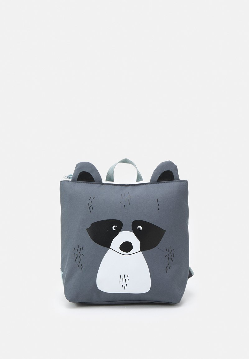 Lässig - TINY COOLER BACKPACK ABOUT FRIENDS RACOON UNISEX - Rucksack - grey