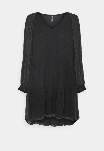 PCNUTSI DRESS - Juhlamekko - black