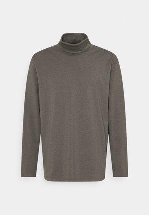 PLUS - Top sdlouhým rukávem - grey