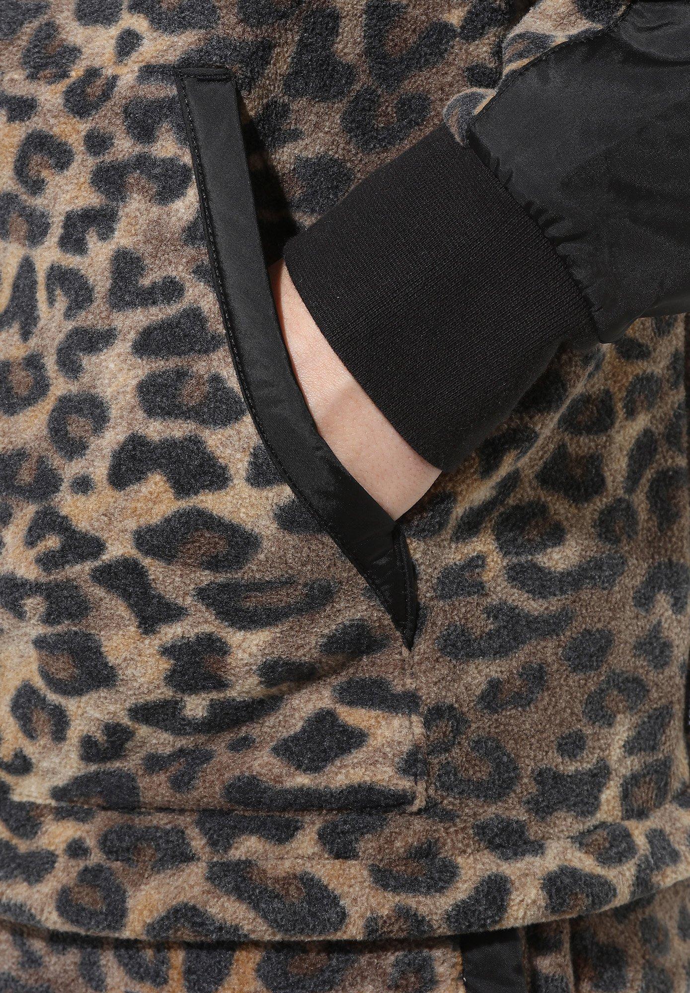 2020 Abbigliamento da uomo Vans MN CHECK ME OUT ANORAK Felpa leopard print