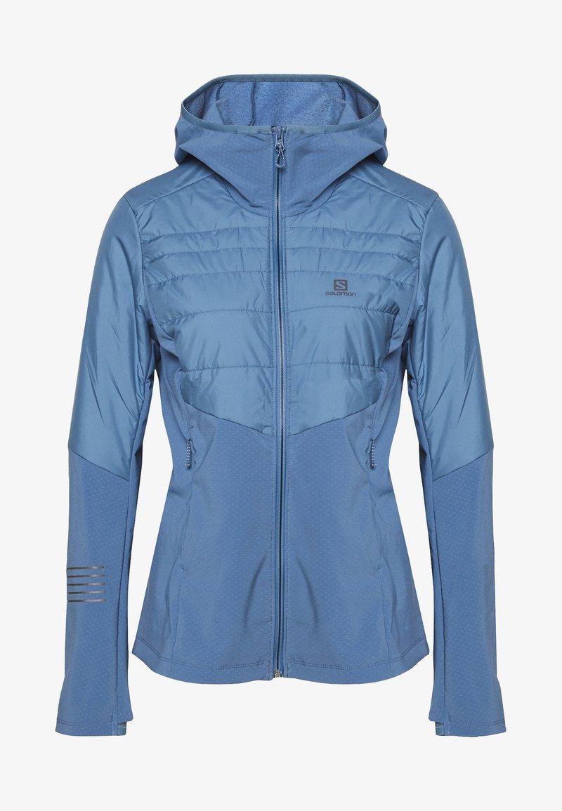 Salomon - OUTSPEED INSULATED - Outdoor jacket - copen blue