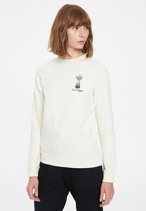 Sweatshirt - whisper white
