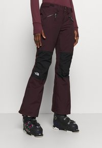 The North Face - ABOUTADAY PANT  - Schneehose - rootbn/black - 0