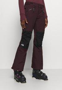 The North Face - ABOUTADAY PANT  - Zimní kalhoty - rootbn/black - 0
