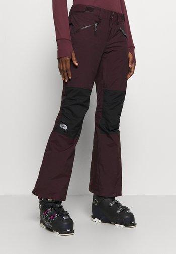 ABOUTADAY PANT  - Ski- & snowboardbukser - rootbn/black