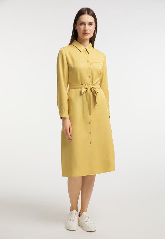 Sukienka koszulowa - gelb