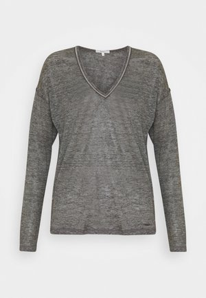 LUCY - Long sleeved top - grey marl