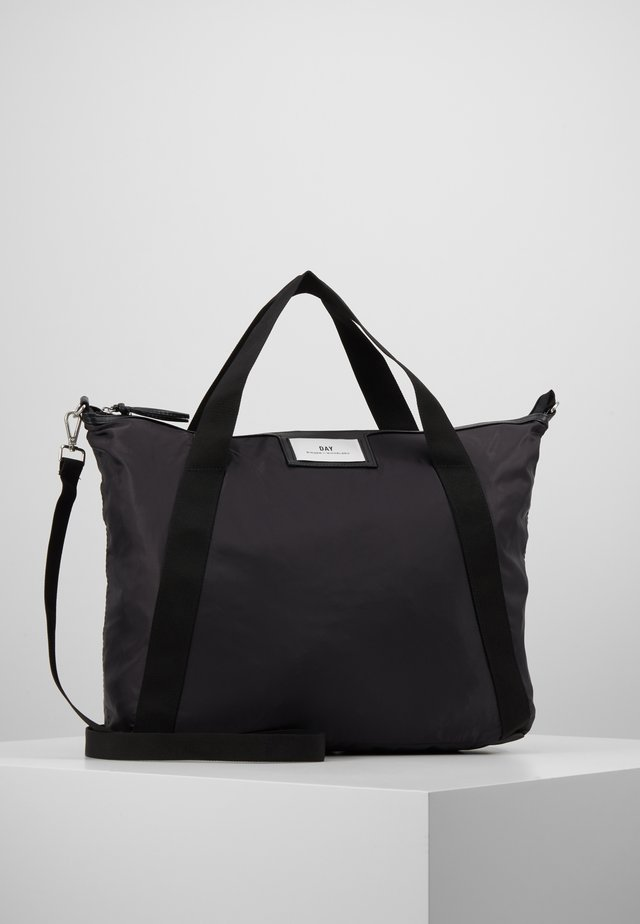 GWENETH CROSS - Shopping Bag - asphalt