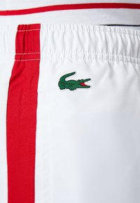 Lacoste Sport - PANT - Träningsbyxor - white/red/navy blue - 7