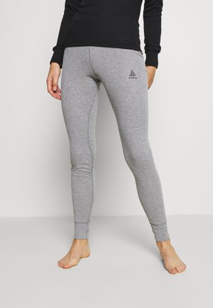 BOTTOM LONG ACTIVE WARM ECO - Base layer - grey melange