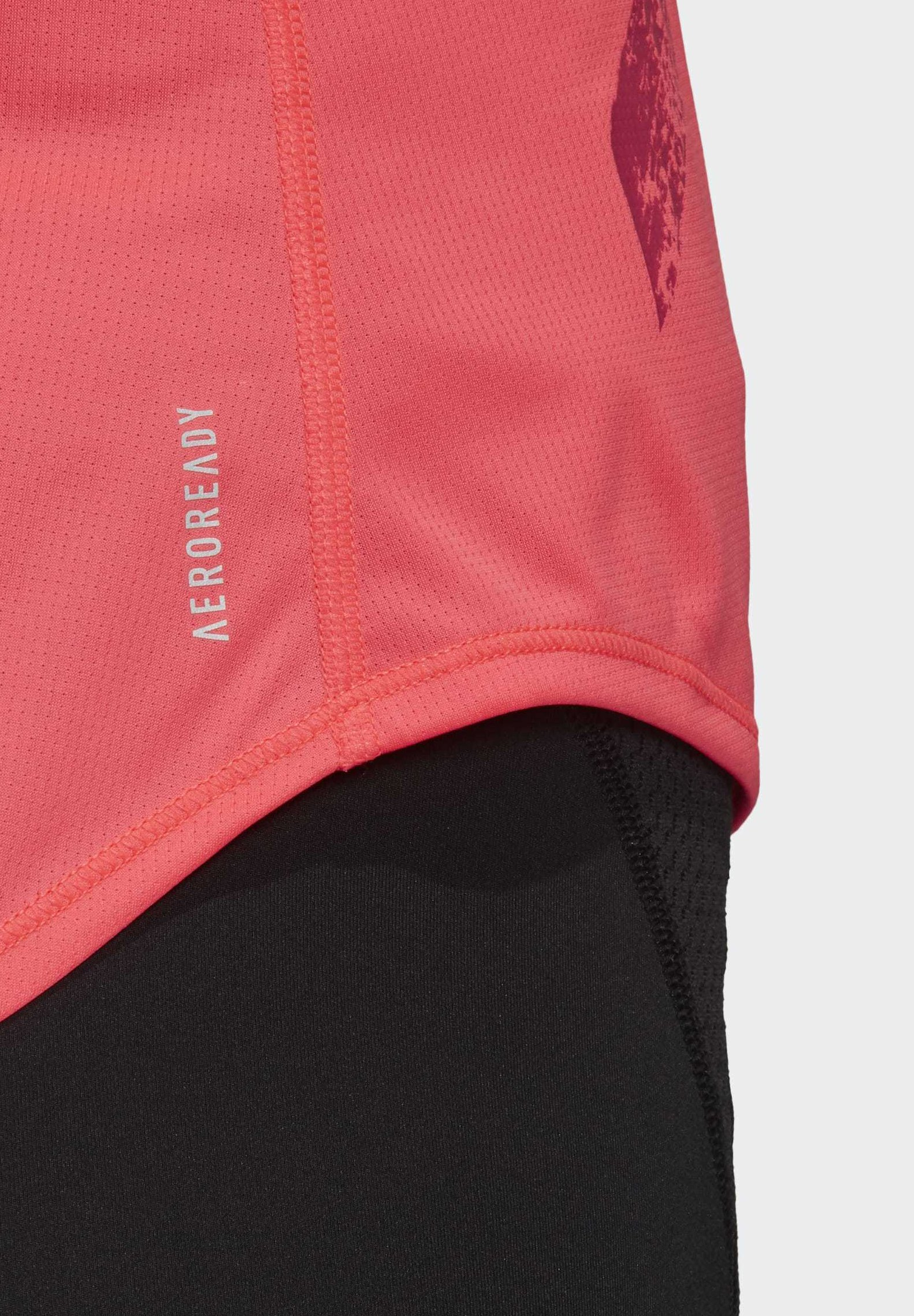 adidas Performance OWN THE RUN 3-STRIPES PB TANK TOP - Top - pink D0s4E