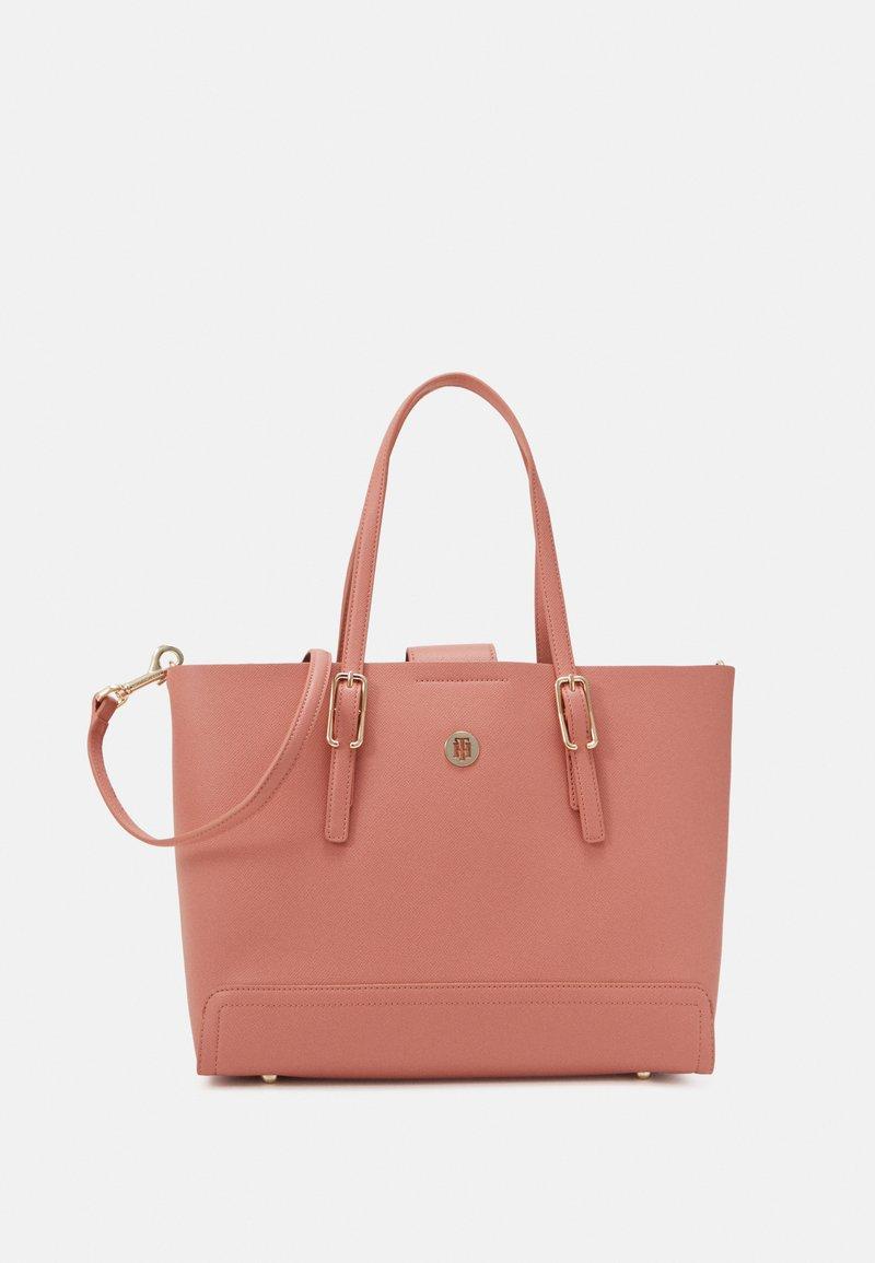 Tommy Hilfiger - HONEY MED TOTE SET - Handbag - pink