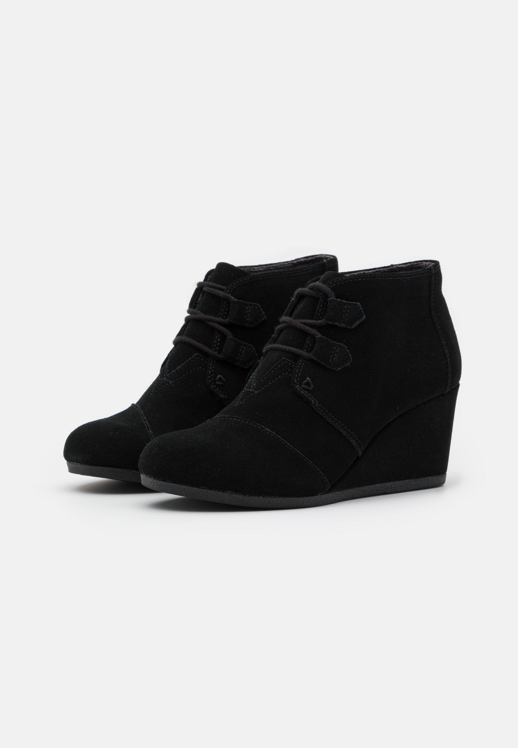 TOMS KALA Ankle Boot black/schwarz