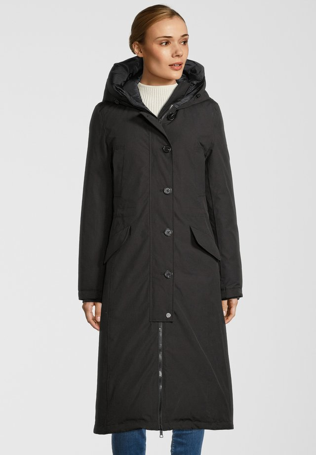 MANTEL CLAUDI - Winter coat - schwarz