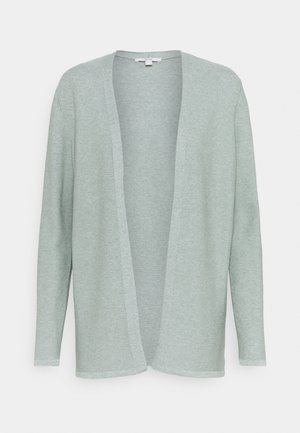 THROW ON - Cardigan - dusty green