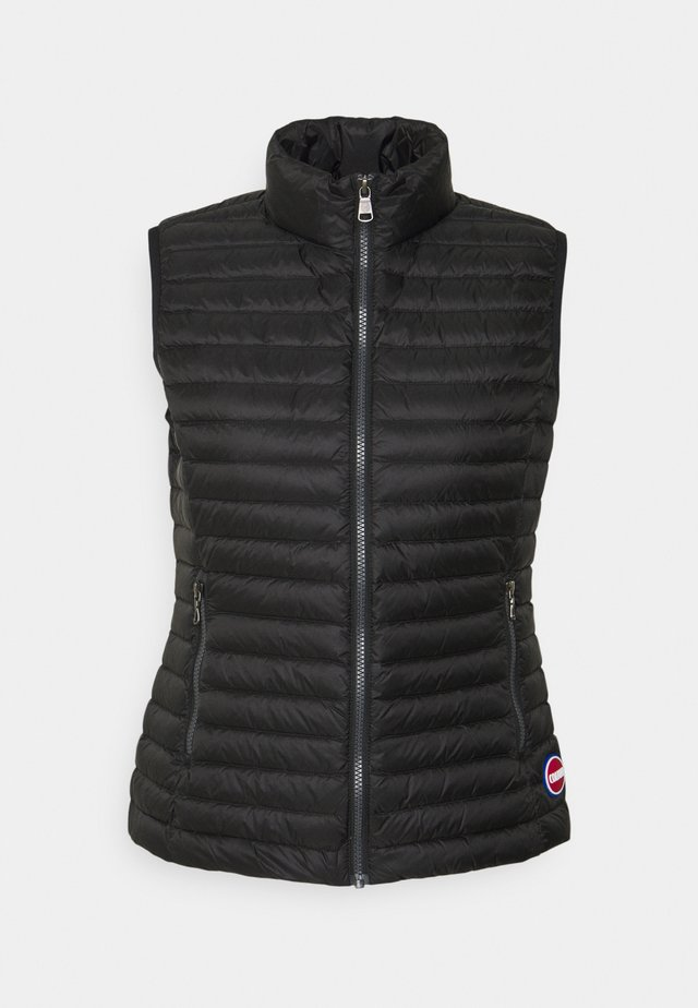 LADIES - Bodywarmer - black-light steel
