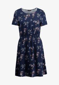 Vero Moda - AUTUMN AMAZE SHORT DRESS - Day dress - night sky - 4