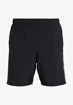 GRAPHIC SHORTS - Pantalón corto de deporte - black/steel