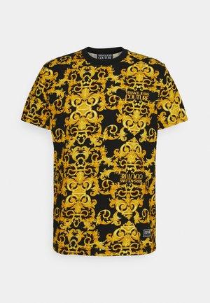 STRETCH LOGO BAROQUE - Camiseta estampada -  black