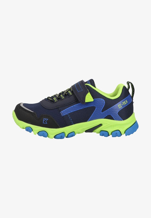 Baskets basses - navy/lime