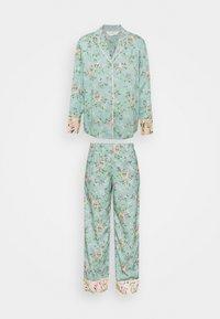 Marks & Spencer London - FLORAL  - Pyjamas - aqua mix - 4