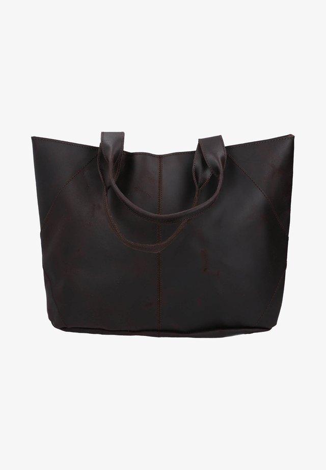 Shopping bag - rostbraun