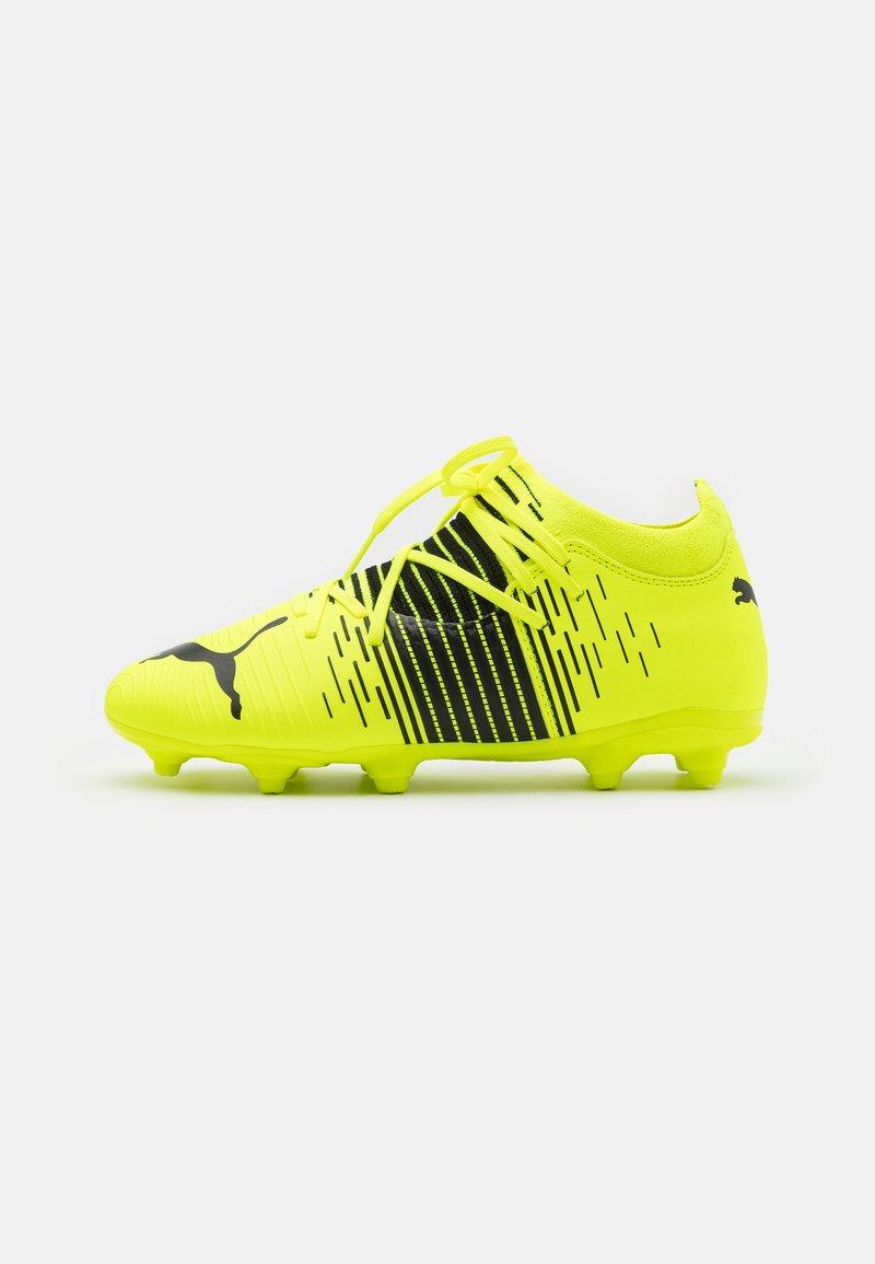 Puma - FUTURE Z 3.1 FG/AG JR UNISEX - Moulded stud football boots - yellow alert/black/white