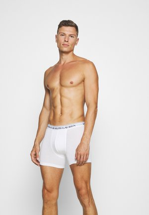 BOXER BRIEF 3 PACK - Shorty - white/black