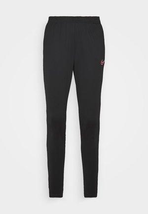 DRY ACADEMY - Jogginghose - black/hyper pink