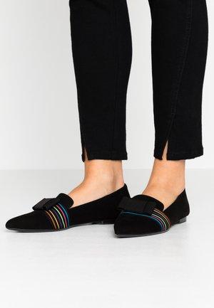 SADIN - Slip-ons - schwarz/multicolor