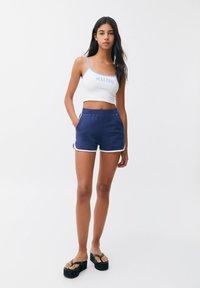 PULL&BEAR - Shorts - dark blue - 1
