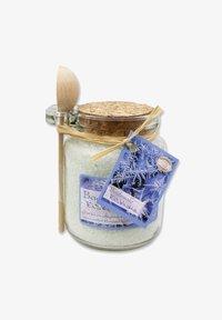 Florex - BADESALZ EISBLUME IM GLAS MIT HOLZLÖFFEL 300 G - Bubble bath & soak - - - 0