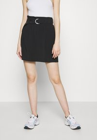 ONLY - ONLMIRANDA SKIRT - Mini skirt - black - 0