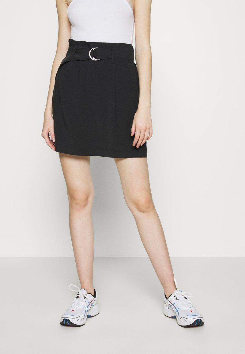 ONLY - ONLMIRANDA SKIRT - Mini skirt - black