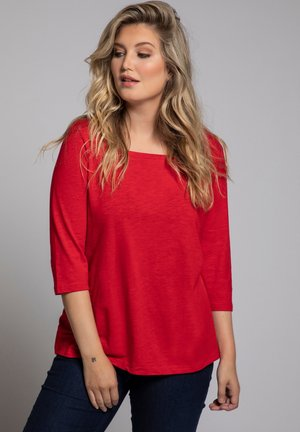 Long sleeved top - salsa