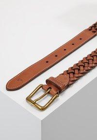 Polo Ralph Lauren - BRAID - Ceinture tressée - saddle - 2