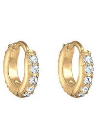 Elli - GLASS CRYSTAL - Earrings - gold - 6