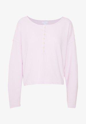 LOUNGE  - Pyjamasoverdel - whitened lilac