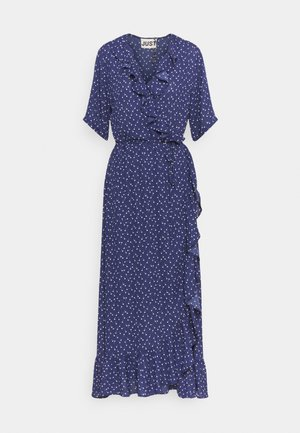 DAISY MAXI WRAP DRESS - Maksimekko - patriot blue