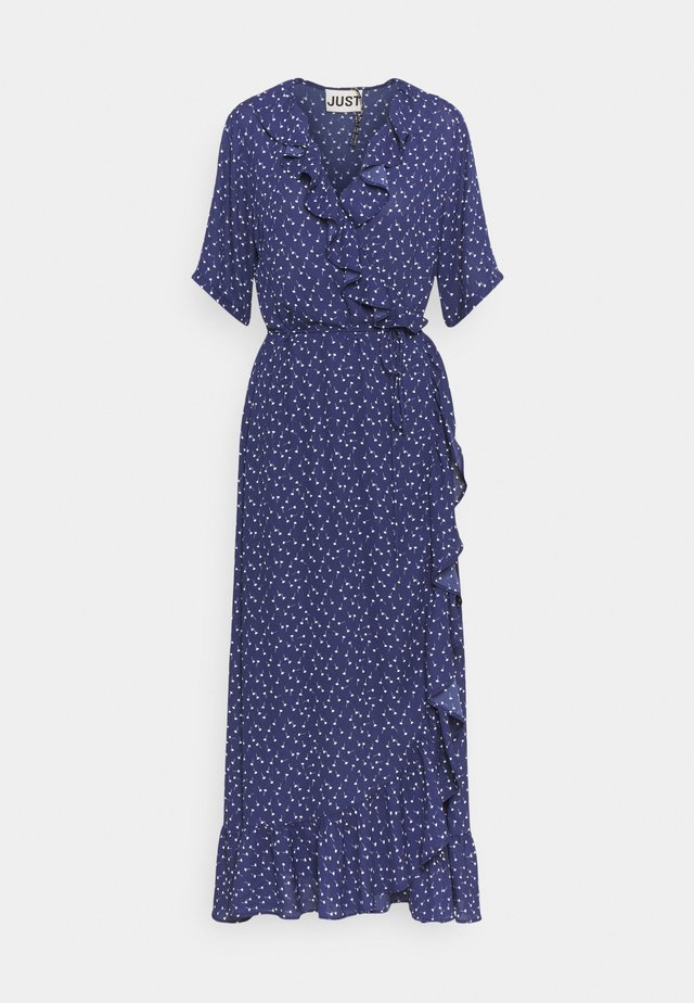 DAISY MAXI WRAP DRESS - Maxikjole - patriot blue