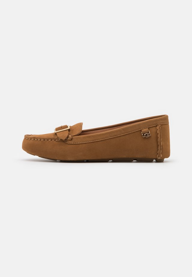 LASSELL - Moccasins - chestnut