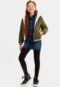 WE Fashion - REVERSIBLE - Winterjas - ecru - 0