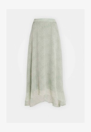 YASALICE HIGH LOW SKIRT SHOW - Jupe longue - misty jade