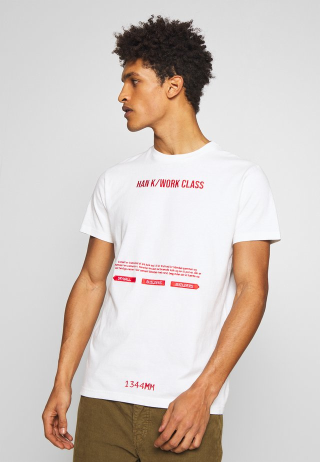 ARTWORK TEE - T-shirt con stampa - off white